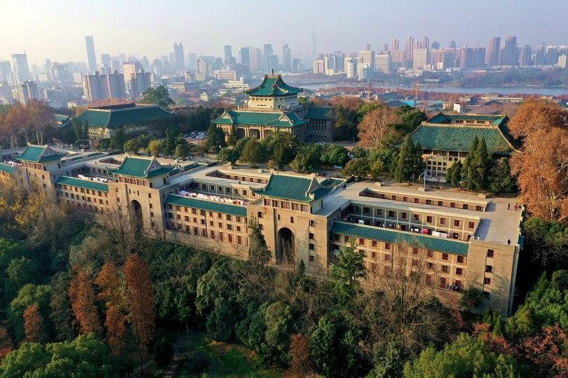 photo de Wuhan University Sakura Castle